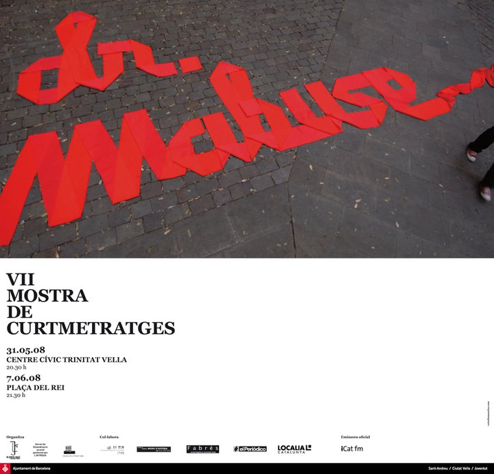 Cartell Mostra Dr. Mabuse 2008