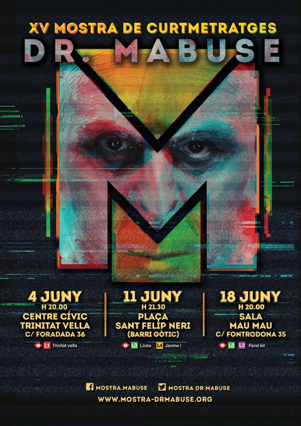 Cartel Mostra Dr. Mabuse 2016