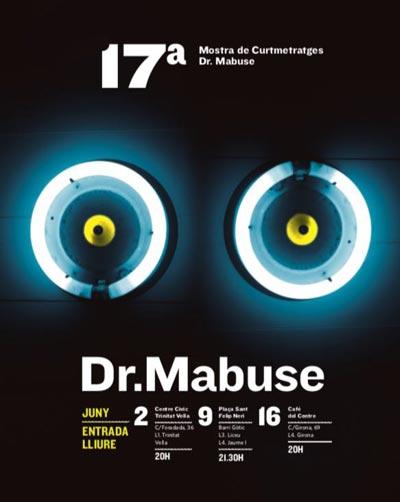 Cartel Mostra Dr. Mabuse 2018